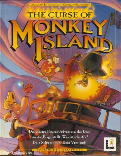 Misc. Games - Curse of Monkey Island, The