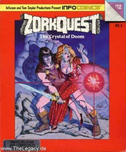 Misc. Games - ZorkQuest 2: The Crystal of Doom