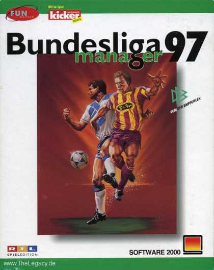 Misc. Games - Bundesliga Manager 97