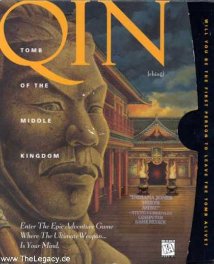 Misc. Games - QIN: Tomb of the Middle Kingdom