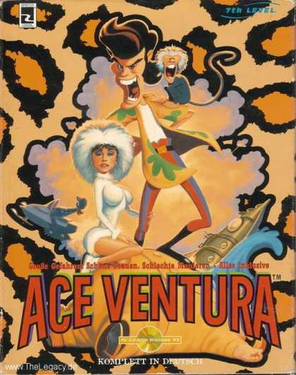 Misc. Games - Ace Ventura