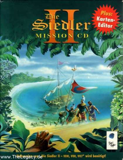Misc. Games - Siedler II, Die: Mission CD