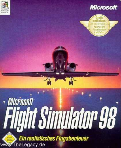 Misc. Games - Microsoft Flight Simulator 98