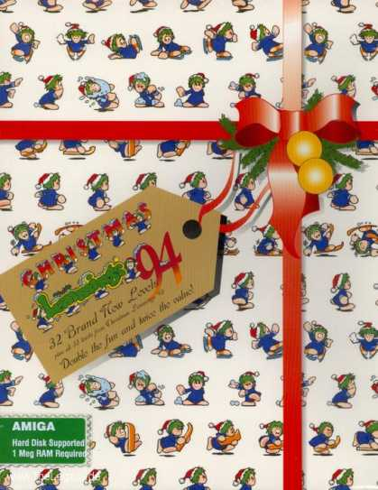 Misc. Games - Christmas Lemmings 94