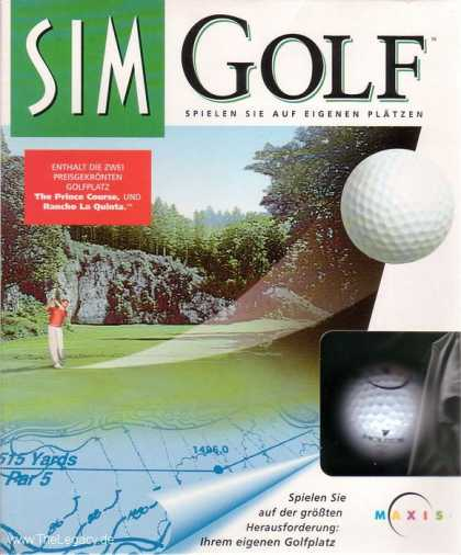 Misc. Games - Sim Golf