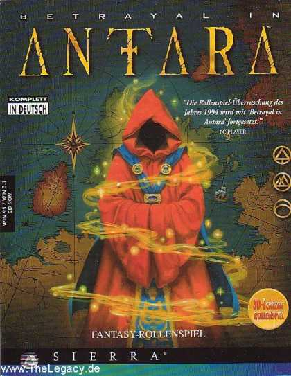 Misc. Games - Betrayal in Antara