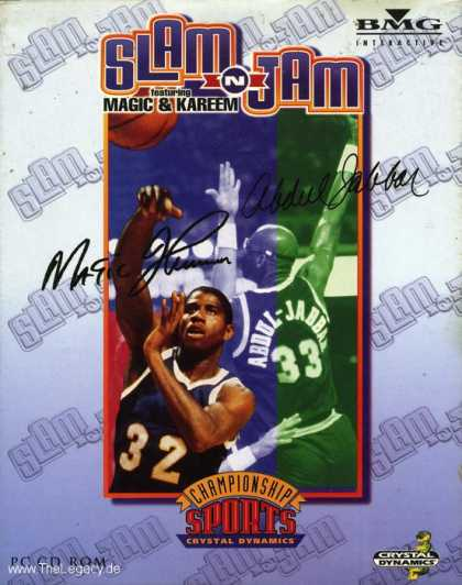 Misc. Games - Slam'n'Jam featuring Magic & Kareem