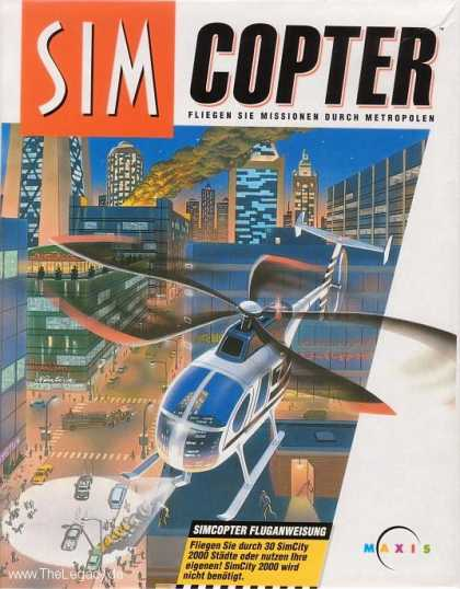 Misc. Games - Sim Copter