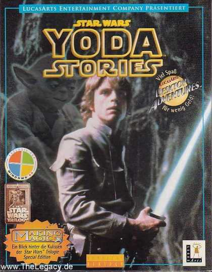 Misc. Games - Star Wars - Yoda Stories