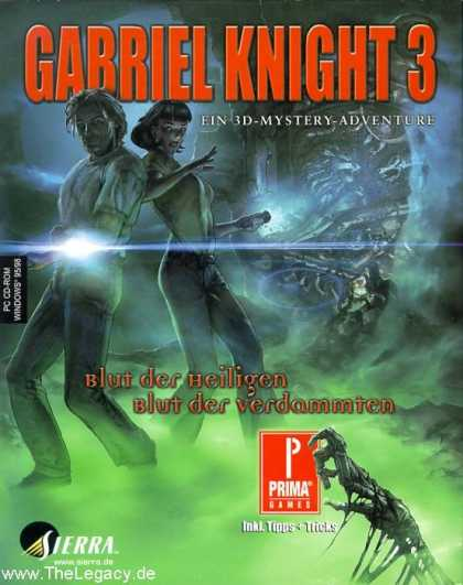 Misc. Games - Gabriel Knight 3: Blood of the Sacred, Blood of the Damned