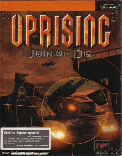 Misc. Games - Uprising: Join or Die