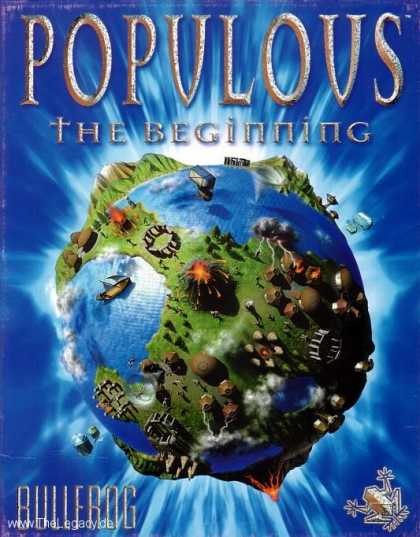 Misc. Games - Populous - The Beginning