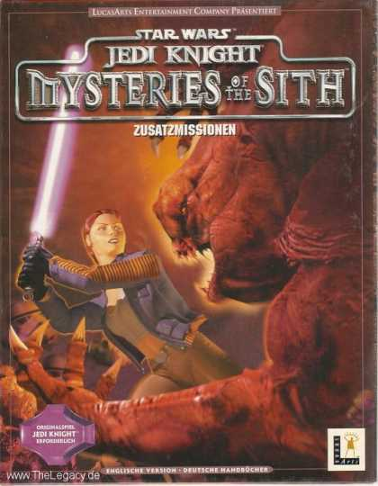 Misc. Games - Star Wars - Jedi Knight: Mysteries of the Sith