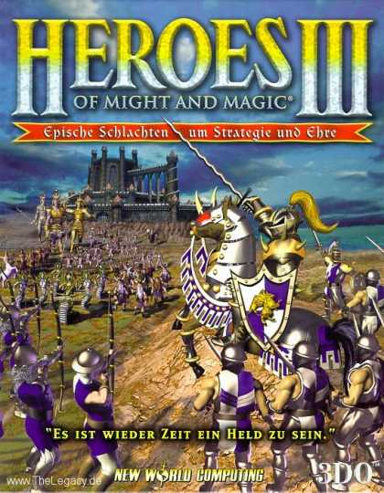 Misc. Games - Heroes of Might and Magic III: The Restoration of Erathia