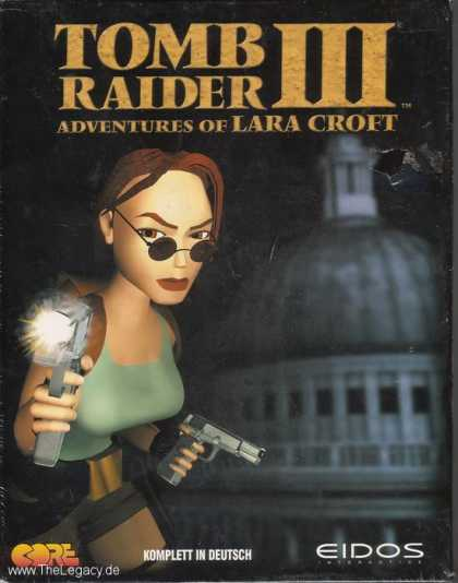 Misc. Games - Tomb Raider III: Adventures of Lara Croft