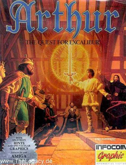 Misc. Games - Arthur: The Quest for Excalibur