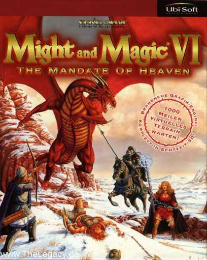Misc. Games - Might and Magic VI: The Mandate of Heaven