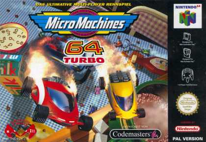 Misc. Games - MicroMachines V3