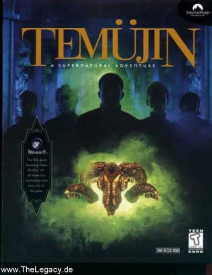 Misc. Games - Temujin: A Supernatural Adventure