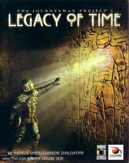 Misc. Games - Journeyman Project 3, The: Legacy of Time