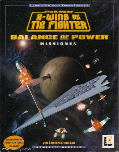 Misc. Games - Star Wars - X-Wing vs. TIE Fighter: Balance of Power