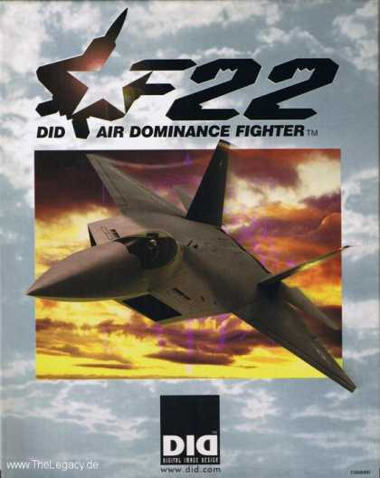 Misc. Games - F-22 ADF: Air Dominance Fighter