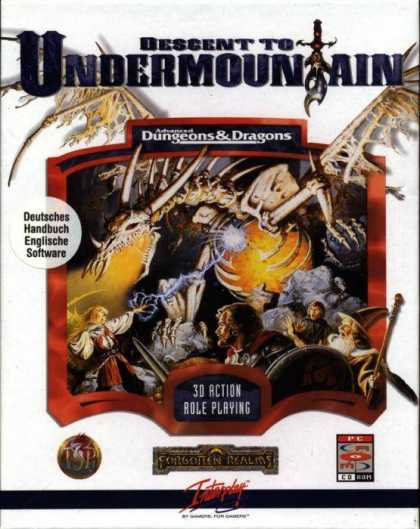 Misc. Games - Descent to Undermountain: The Flame Sword of Loth