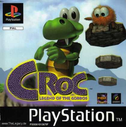Misc. Games - Croc: Legend of the Gobbos