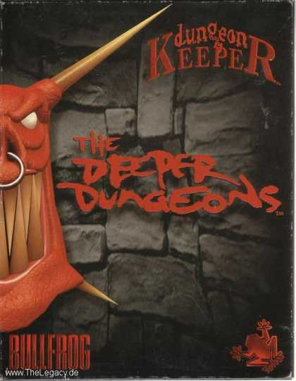 Misc. Games - Dungeon Keeper: The Deeper Dungeons