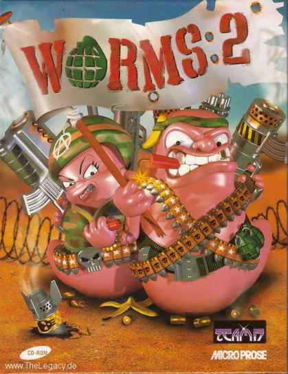 Misc. Games - Worms 2