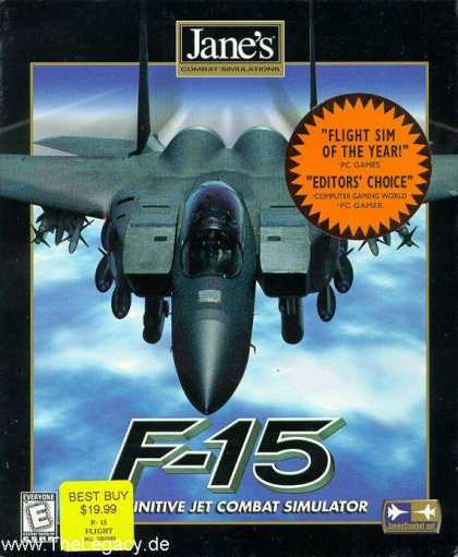 Misc. Games - Jane's Combat Simulations - F-15: Definitive Jet Combat Simulator