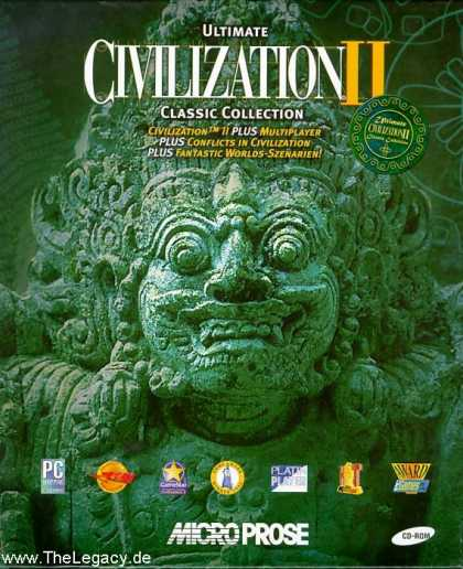 Misc. Games - Ultimate Civilization II Classic Collection