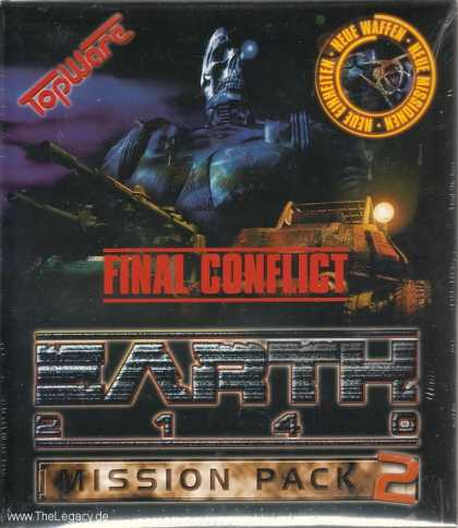 Misc. Games - Earth 2140: Mission Pack 2: Final Conflict