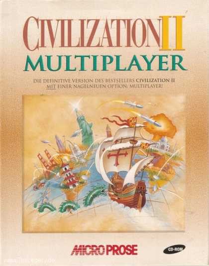 Misc. Games - Civilization II: Multiplayer