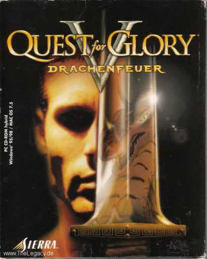 Misc. Games - Quest for Glory V: Dragon Fire