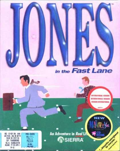 Misc. Games - Jones in the Fast Lane