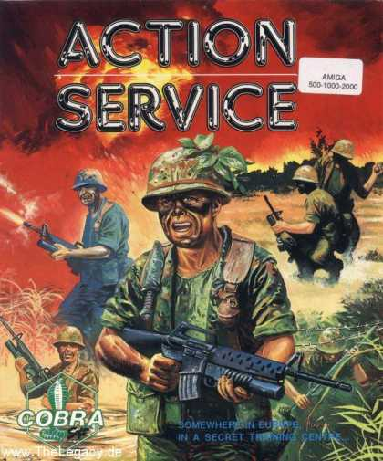 Misc. Games - Action Service