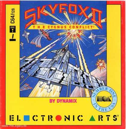 Misc. Games - SKYFOX II: The Cygnus Conflict