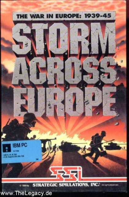 Misc. Games - Storm across Europe