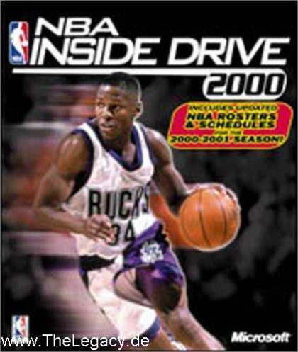 Misc. Games - NBA Inside Drive 2000