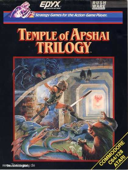 Misc. Games - Temple of Apshai Trilogy