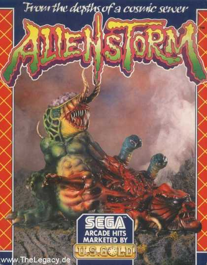 Misc. Games - Alien Storm