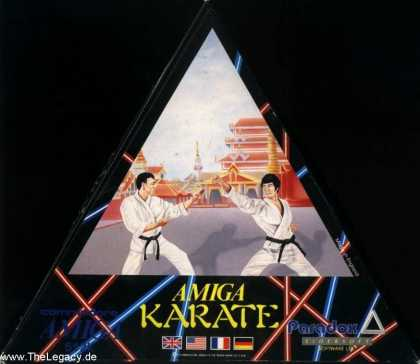 Misc. Games - Amiga Karate