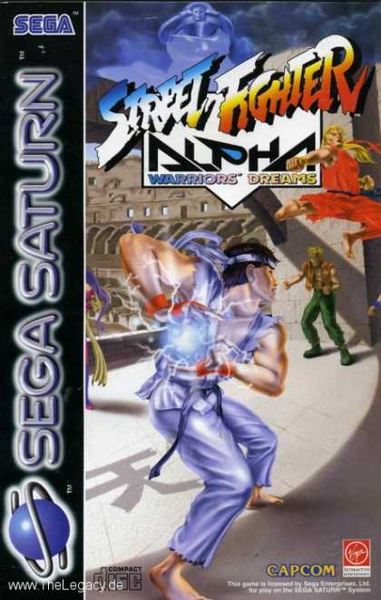 Misc. Games - Street Fighter Alpha: Warriors' Dreams
