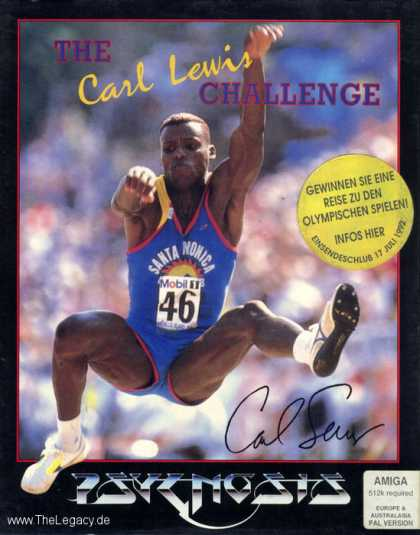 Misc. Games - Carl Lewis Challenge, The