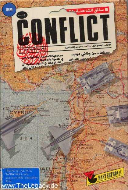 Misc. Games - Conflict: The Middle East Political Simulator