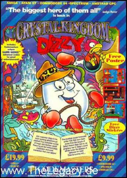Misc. Games - Crystal Kingdom Dizzy