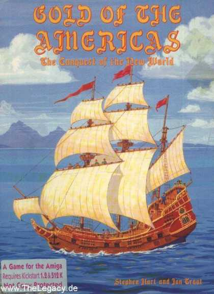 Misc. Games - Gold of the Americas: The Conquest of the New World