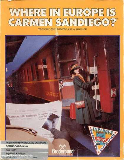 Misc. Games - Where in Europe is Carmen Sandiego?