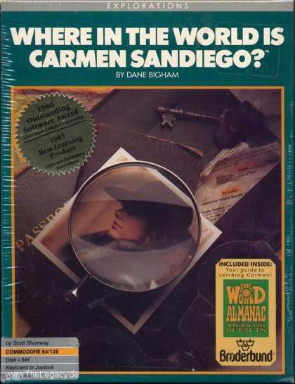 Misc. Games - Where in the World is Carmen Sandiego?